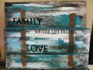 Hand- painted Wooden Signs