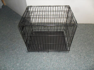 Pet cage, Collapsible metal wire for small dog/cat
