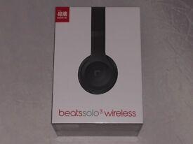Beats Solo 3 Wireless Headphones (Matte Black) *BRAND NEW Unopened*