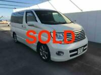 Nissan Elgrand Campervan SOLD