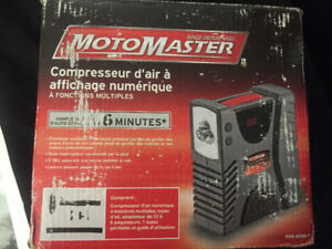 Motomaster Air Compressor with Digital Display Tire Inflator