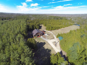 Exquisite 4500 sq ft Home on 42 acres with Private Pond!!
