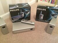 Philips wireless TV link - 2 units to work on 2 to sets other than the original.