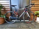 Scott Road Bike 105 Carbon Forks 105 gearset! Not cube giant boardman