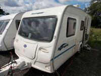 Bailey Ranger 470/4 2004 4 Berth Lightweight Touring Caravan - Centre Dinette