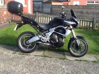 Kawasaki kle 650 versys 07 reg, may delivery