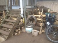"FIREWOOD 6"" - 1ft  PIECES"