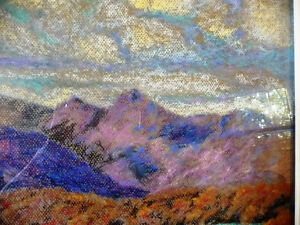Original British Lake District Pastel by Billie Appleton 1987 Stratford Kitchener Area image 4
