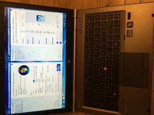 230$ - Laptop: HP8460W - 14 inches