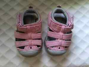 NEW RED GOOSE BABY SANDALS - SZ 3!! Kitchener / Waterloo Kitchener Area image 1