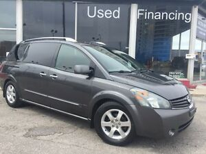 SOLD****2007 Nissan Quest SEL BACKUP CAMERA LEATHER SEATS DVD