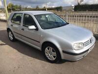 2003 Volkswagen Golf 1.9TDI PD Match + Long MOT 28/06/2017