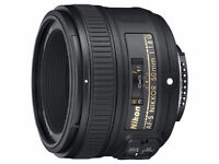 Wanted to buy:  Nikon 50mm f1.8G Lens