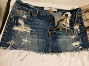 Hollister and Urban Heritage Jean Skirts