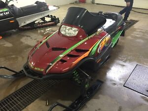 1999 Arctic Cat ZL 600 - Family sled with Reverse Moose Jaw Regina Area image 1