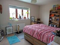 Spacious double room, modern 2-bed house, Great Shelford/Stapleford. Fully furnished, £500 pcm