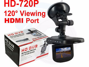"""Car HD DVR Camera 2.5"""" LCD Camcorder with Motion Detection HDMI"""
