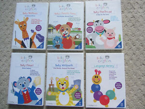 Set of Six Baby Einstein DVDs