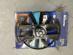 Electric engine cooling fan