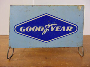 Metal GoodYear Tire Rack