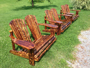 Handmade Adirondack Style Outdoor Furniture Kawartha Lakes Peterborough Area image 1