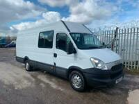 0379038c02 2012 Iveco Daily 2.3TD 35S13 130 bhp LWB high roof 6 seater crew van no