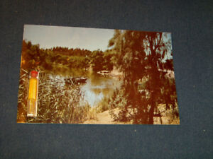 CHRISTMAS GREETINGS-WATER FROM JORDAN RIVER-POSTCARD-HOLY LAND