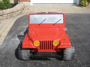 Jeep électrique pour enfants