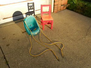 Kindergarten Chair and Swing Set Bucket Edmonton Edmonton Area image 3