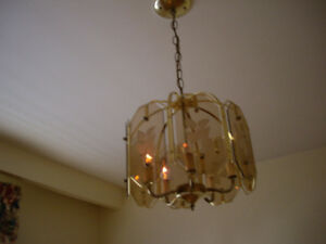 BEAUTIFU CRYSTAL ,TIFFANY,CHANDELIER HANGING LAMPS FOR SALE