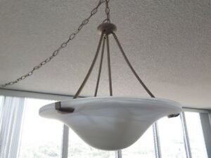 Lighting fixture- 18 inches, white, plug in or hard wire