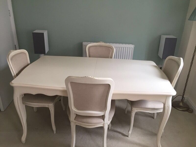 Laura Ashley Dining Room Furniture Provencale Ivory Table Chairs