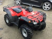Honda quad fourtrax