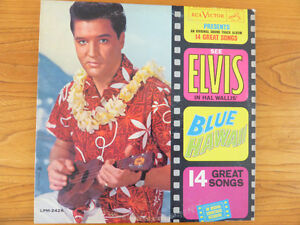 Elvis Album Blue Hawaii