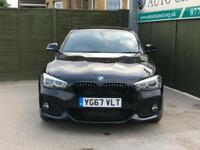 2017 BMW 1 Series 2.0 118d M Sport Shadow Edition Sports Hatch Sport Auto