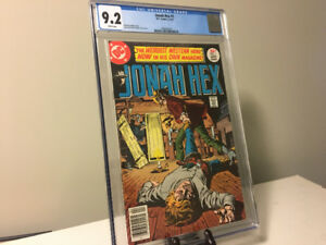 CGC 9.2 Jonah Hex #1 - First solo title