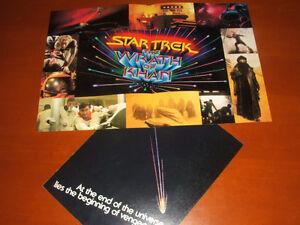 VINTAGE - Star Trek II - Wrath of Khan - Lobby Promo