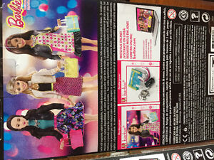 New! Barbie style glam night Barbie and accessories Reduced!! Kitchener / Waterloo Kitchener Area image 2