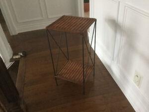 Table en rotin\rattan table