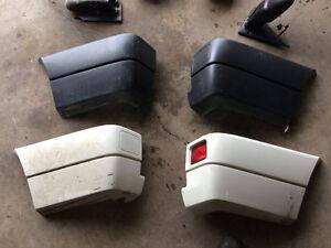 Volkswagen EuroVan bumper corners