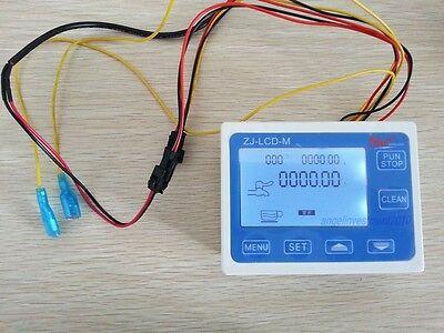Water Flow Control Digital Lcd Meter Water Flow Cutoff