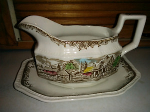 Gravy Boat - Shakespeare Sonnets collection