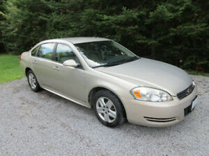 2009 Chevrolet Impala LS, Safetied, 93,000 km, Krown Rust-Proof.