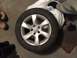 16 inch Nissan mags