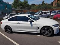 BMW 4 SERIES 420D M SPORT Plus White Auto Diesel, 2016