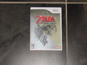 Wii Legend of Zelda Twilight Princess game