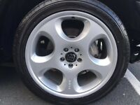 "Mercedes Brabus alloy wheels brand new original 20"" with brand new tyres"
