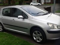 Peugeot 307 hdi moted 6 month 07392501266