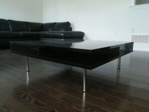 Like NEW Modern Black Lacquer Coffee Table $150 OBO