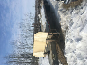Tandem Axle pintle hitch trailer for sale